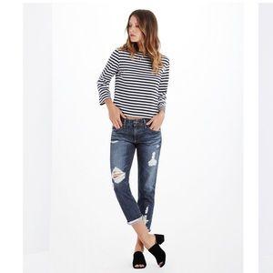 AG Jeans Ex-Boyfriend Slouchy Slim size 25
